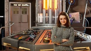DOCTOR WHO SERIES 9 NEWS - Doctor Who reveals Maisie Williams as guest star!