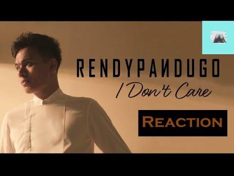 Rendy Pandugo - I Don't Care Reaction