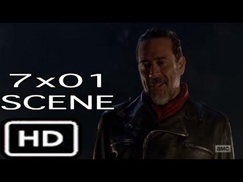 "The Walking Dead 7x01 ""Negan Crushes Glen's Head"" Season 7 Episode 1"