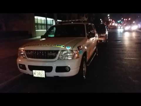 Newark, New Jersey Liberty Health System Monoc EMS Physician Car Parked In Harlem, New York