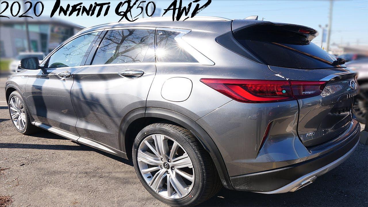 2020 Infiniti QX50 AWD Exterior and Interior Walkaround