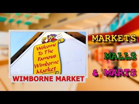 Markets, Malls and Marts Travel Blog: Wimborne Market