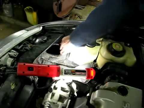 Windshield Washer Tank Removal Youtube