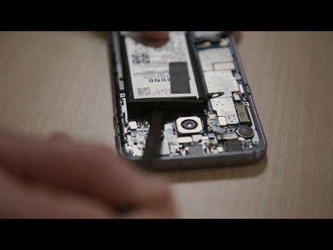 Samsung Galaxy S7 Akku Wechseln Anleitung Youtube