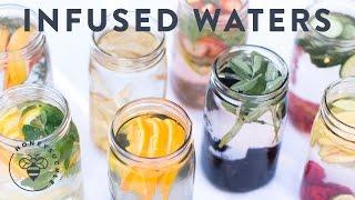 Fruit Infused Water: 8 Ways to drink more Water - Honeysuckle