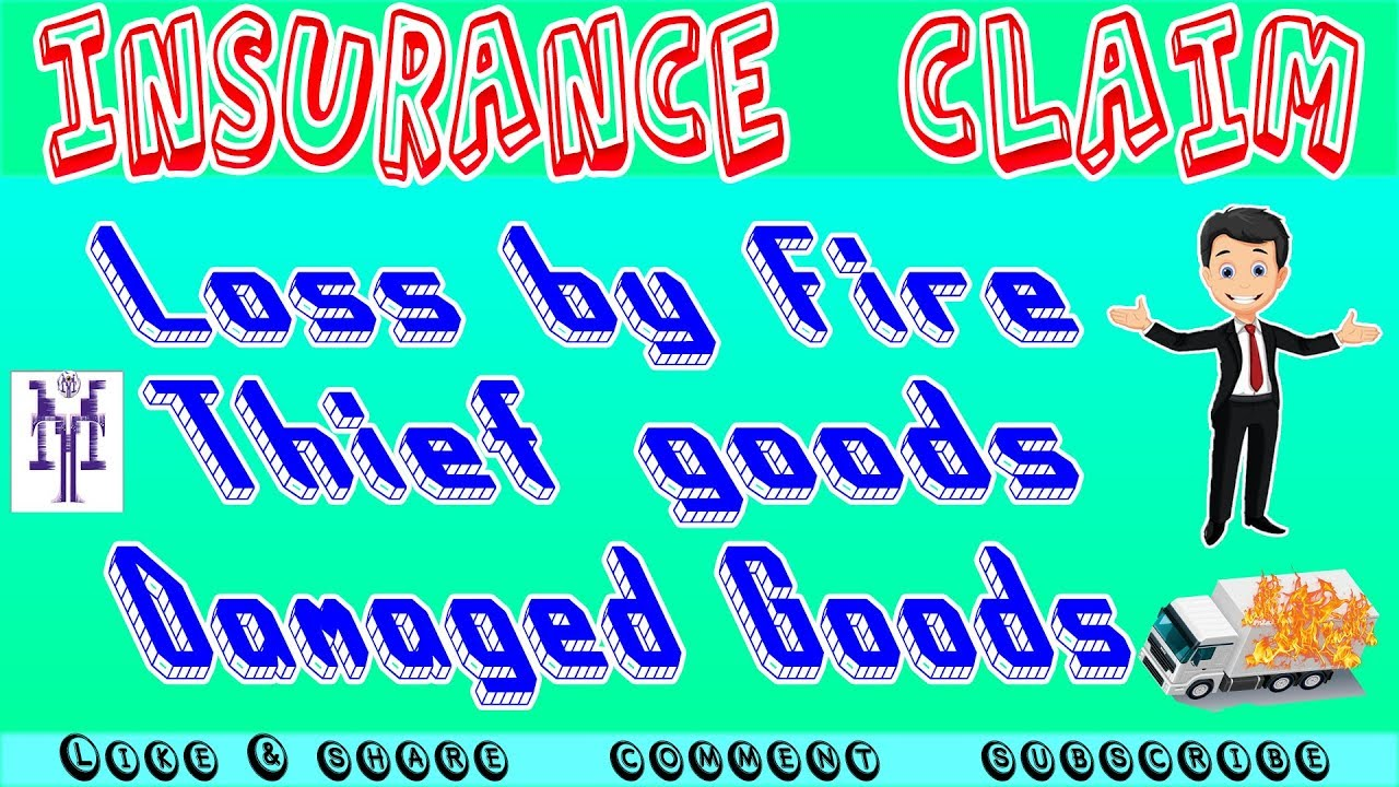 Insurance Claim Entry In Tally Erp9 Loss Damage Thief Claim To Insurance Input Tax Reverse Youtube