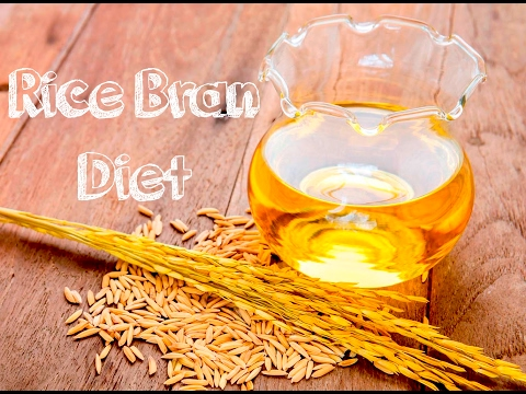 Health Benefits of Rice Bran Diet. Superfood Rice Bran