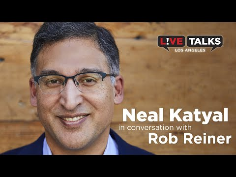 Neal Katyal in conversation with Rob Reiner at Live Talks Los Angeles