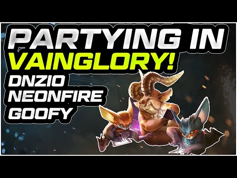PARTYING IN VAINGLORY COMMUNITY EDITON!