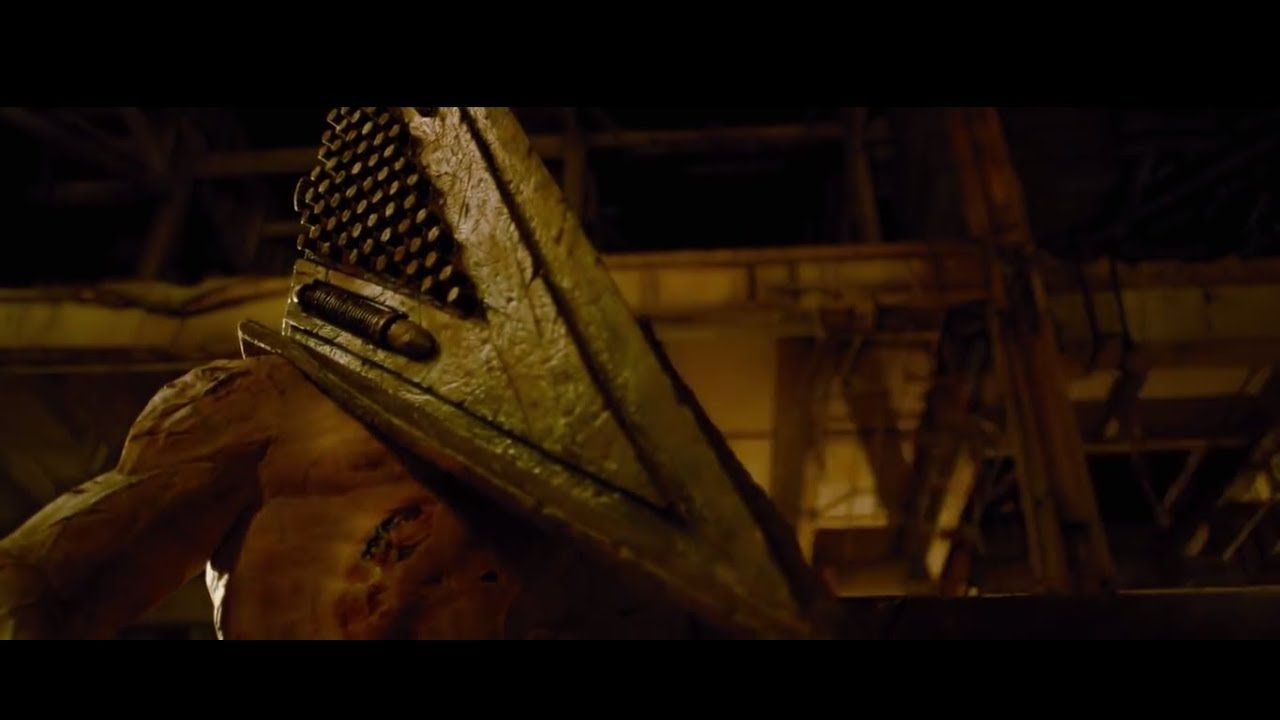 """Silent Hill Revelation"" Pyramid Head Final fight Scene ...Silent Hill Revelation Pyramid Head Fight Scene"