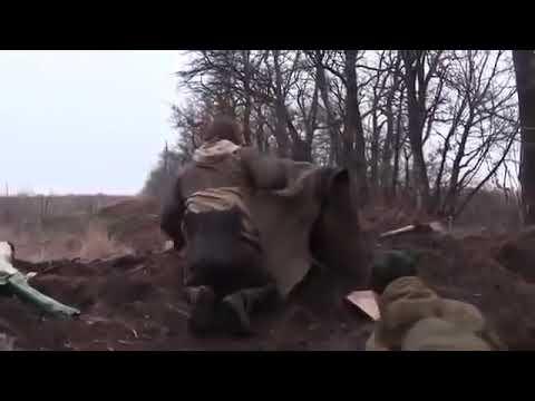 Последние пол часа бойца ВСУ на Донбассе. Видео с шлемной камеры. (22 июля 2020)