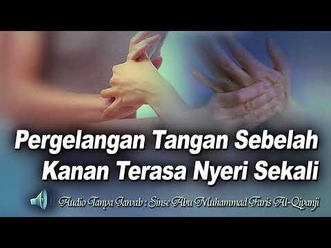 penyebab kesemutan dan nyeri pada pergelangan tangan sampai ujung jari..  #belajarbarengperawat.