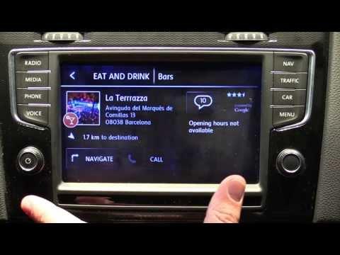 HTC MirrorLink inside the 2015 VW Golf GTI