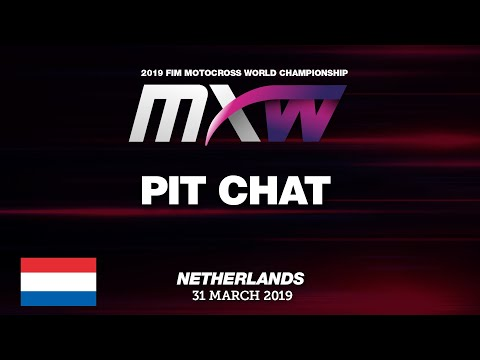 Pit Chat With Kiara Fontanesi MXGP Of The Netherlands - Valkenswaard 2019 #Motocross