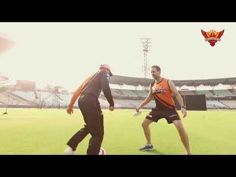 SunRisers Hyderabad   SRH's First Practice Session At Eden   #OrangeArmy   VIVO IPL 2019