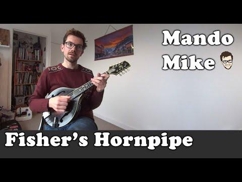 Fisher's Hornpipe (Beginner & Intermediate Mandolin)