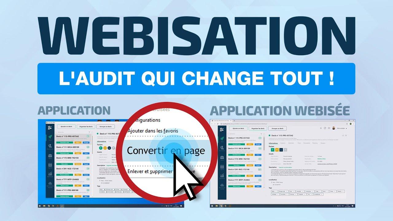Webisation - L'audit qui change tout!