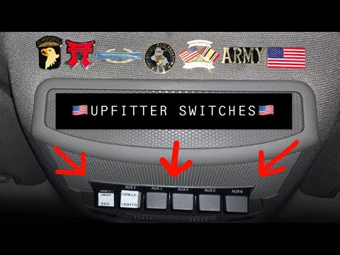 2017, 2018, 2019 up f250 upfitter /aux switches how to wire up.