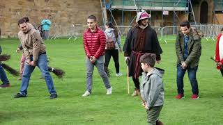 Broomstick Training (Flying Lessons at Hogwarts - Alnwick Castle 30.9.17)