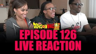 Vegeta fans REJOICE! Episode 126 LIVE REACTION!