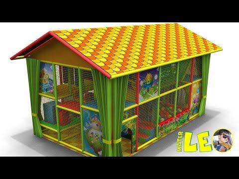 "Children's entertainment center ""Leo plays on the maze"""