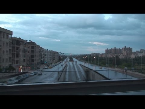 Driving Aleppo ﺣﻠﺐ‎ - Syria سوريا