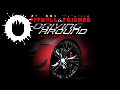 Mr. 305 feat. Pitbull, David Rush & Vein - Driving Around (Providers Remix) (Cover Art)