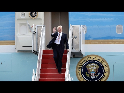WATCH  President Donald Trump Returns to Washington DC in Air Force One