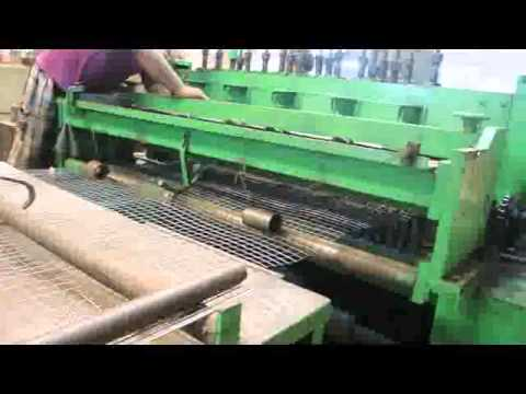 Automatic welded wire mesh making machine by BENGAL WIRE