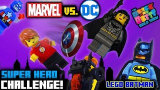 marvel vs dc lego challenge mighty micros unboxing    brick betty