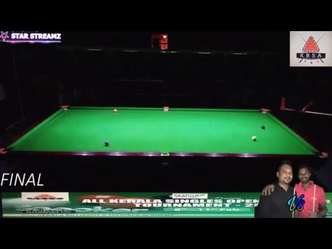 Haashi Vs Ashru Kerala Snooker Tournament 2018 (Grand Final)
