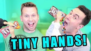 Tiny Hands Challenge - Funny Father's Day Video w/ Weiss Life!