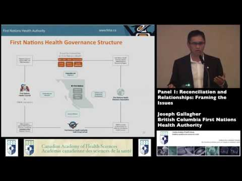 British Columbia First Nations Health Authority Joseph Gallagher, Chief Executive Officer, FNHA