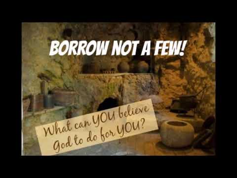 Only The Anointing Can Pay The Creditor by Brian Kinsey