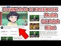 Tanpa Lewat2'i Iklan | Cara Download Naruto Boruto di Facebook !!!