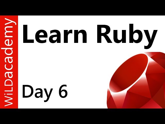 Ruby Programming - 6 - How to Write Arrays in Ruby