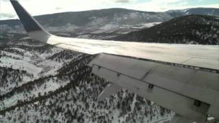 Vail Eagle County (EGE) Approach