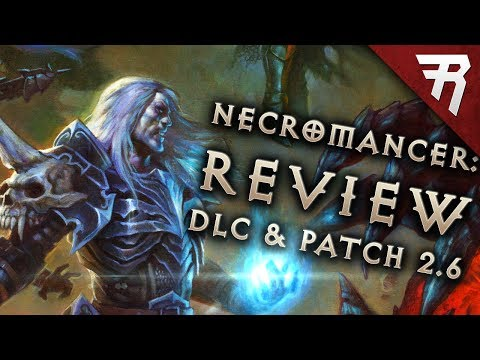 Rise of the Necromancer DLC Pack Review (Diablo 3 2.6 gamepl