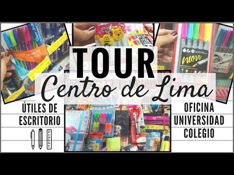 Tour Centro de Lima: Útiles de Escritorio | Colegio, Universidad, Oficina | MyFioriStyle