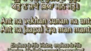 """Japji Sahib"" Full PathPunjabi/English Captions and Translation"