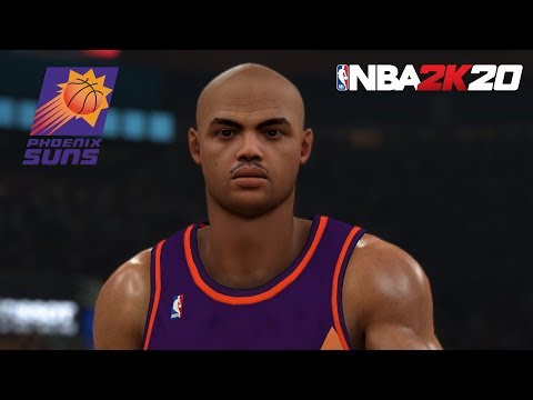 NBA 2K20 - What If Charles Barkley Was In The Game? - PC MOD - All-Time Suns Vs All-Time Magic