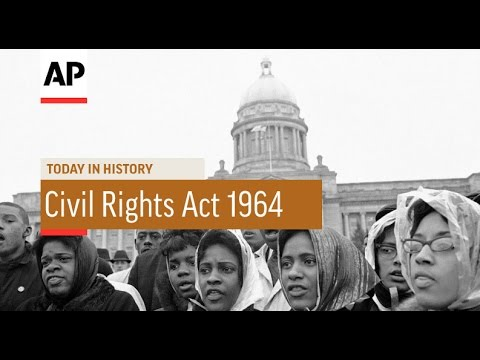 Civil Rights Act Passed - 1964 | Today in History | 19 June 16