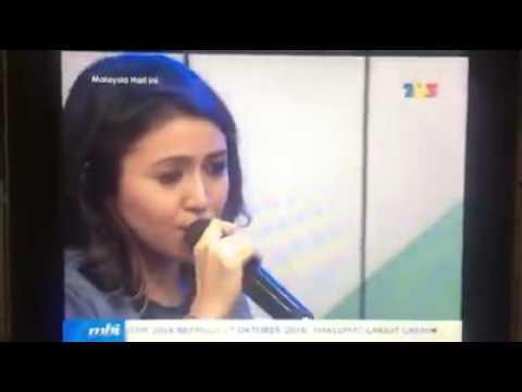 BABY SHIMA - KU TAK AKAN BERSUARA live TV3