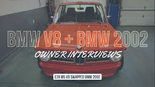 DREAM BUILD M5 V8 BMW 2002 - Short Film