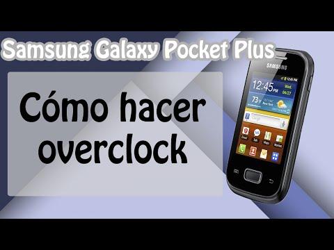 Cómo hacer overclock en el Samsung Galaxy Pocket GT-S5301/L/B