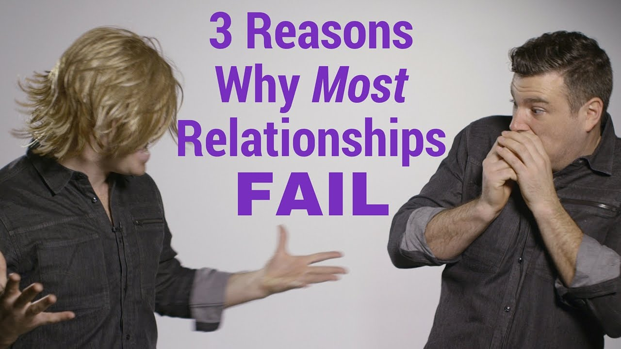 an evaluation of reasons why relationship fail According to one survey, the second greatest reason why women don't apply for jobs is because they don't want to put themselves in a position to fail advertisement - continue reading below.