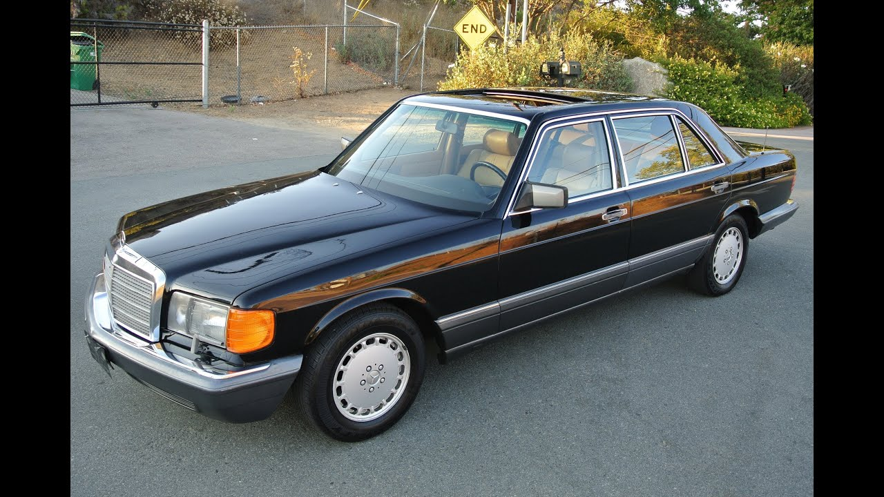 1990 mercedes benz 560sel w126 saloon 1 owner 91k orig miles w 126 youngtimer youtube