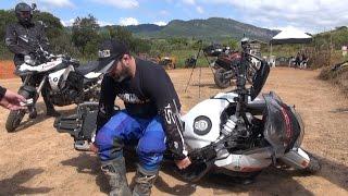 Como Levantar uma  Moto Portal Big trail como levantar uma bmw , triumph, honda, yamaha