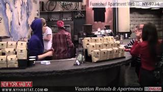 Video Tour of a 1-Bedroom Furnished Apartment in the West Village, Manhattan, New York