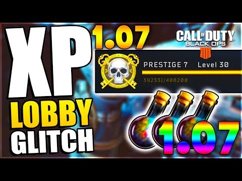*1.07* BO4 CUSTOM LOBBY ZOMBIE Unlimited XP Glitch | Bo4 Online Xp Lobby After Patch 1.07